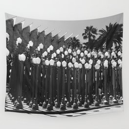 Los Angeles County Museum of Art Light Poles Wall Tapestry