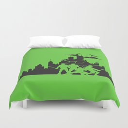 TMNT: Big Apple 3AM Duvet Cover