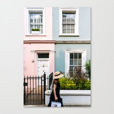 London - Notting Hill Canvas Print