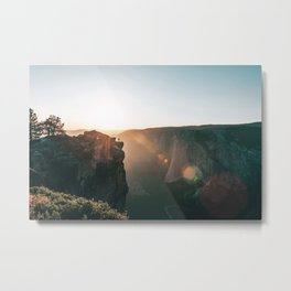 Taft Point Metal Print