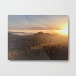 San Luis Obispo Sunset Metal Print