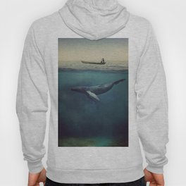 Old Sea and the Man Hoody