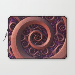 Spiral Mania Laptop Sleeve