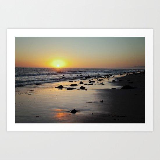 Emmawood Sunset  Art Print