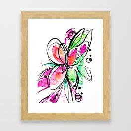 Ecstasy Bloom No. 1 by Kathy Morton Stanion Framed Art Print