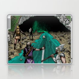 Party Approaching Cave Laptop & iPad Skin