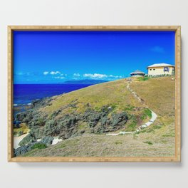Basco Lighthouse Batanes Philippines Ultra HD Serving Tray