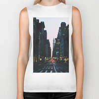 broadway Biker Tanks featuring Broadway by cascam