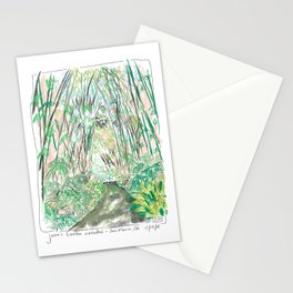 Bamboo Cathedral Sketch - San Marino CA Stationery Cards