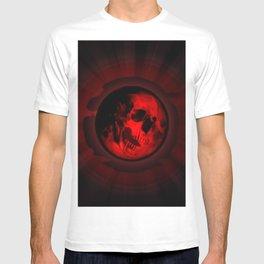 Death moon skull T-shirt