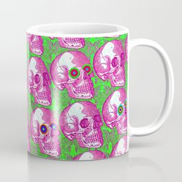 Skullwatchers Pattern Coffee Mug