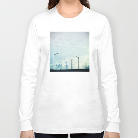 Cerulean Frequencies Long Sleeve T-shirt