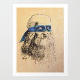 Leo TMNT Art Print