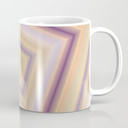 rotated square caro in pastel colors Coffee Mug