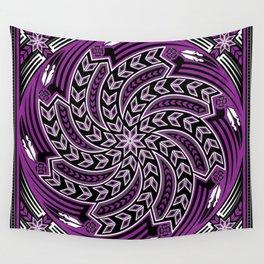 Wind Spirit (Purple) Wall Tapestry