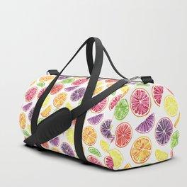 Citrus Wheels Duffle Bag