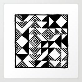 Rearanging My Tiles Art Print