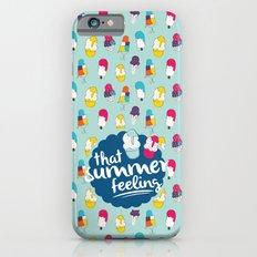 That summer feeling - Blue iPhone 6s Slim Case
