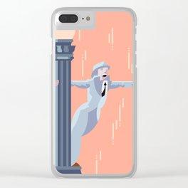 Singin' in the Rain Clear iPhone Case