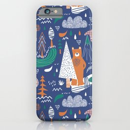 Bear camp iPhone Case