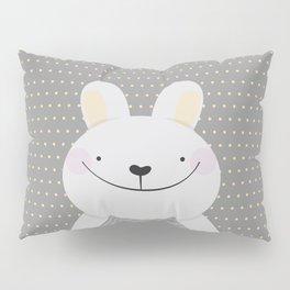 Cute Rabbit Pillow Sham