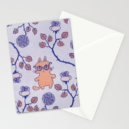 Philosophical cat Stationery Cards