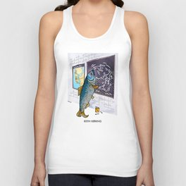 Keith Herring Unisex Tank Top