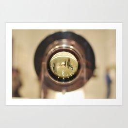 Through HAL's Eye Art Print