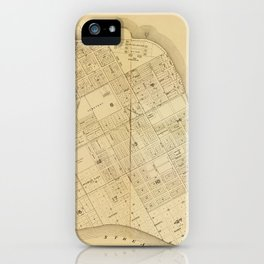 Map Of Key West 1906 iPhone Case