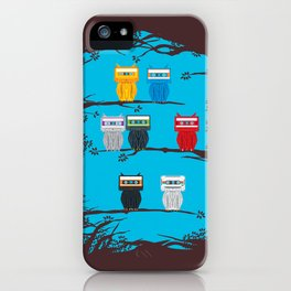 CasHootte Tapes iPhone Case