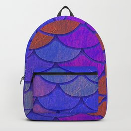Multicolor Scales Backpack