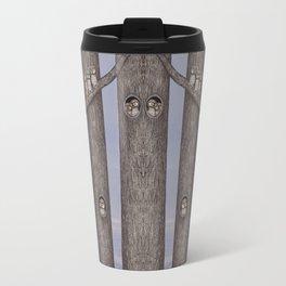 owls in trees Travel Mug