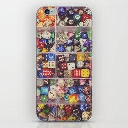 Colorful Dice iPhone Skin