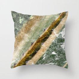 Marble Cactus Throw Pillow