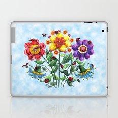 Ladybug Playground on a Summer Day Laptop & iPad Skin