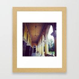 Indian Royal Palace - Chowmahalla Framed Art Print