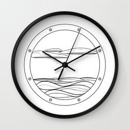World Outside Wall Clock