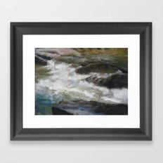 Rapids Framed Art Print