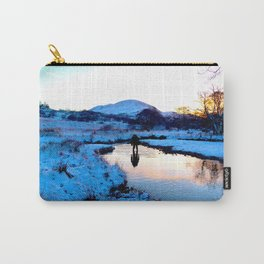 Snowy puddles Carry-All Pouch