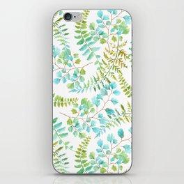 Fern pattern iPhone Skin