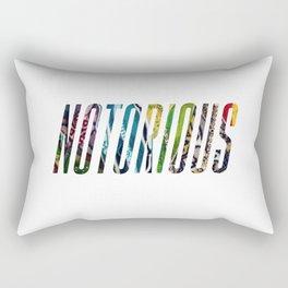 NOTORIOUS THREADS Rectangular Pillow