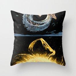 Life on the event horizon 4 Throw Pillow