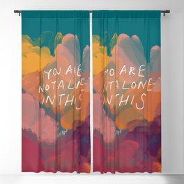 You Are Not Alone In This Blackout Curtain