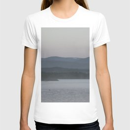 Wilderness lake in the mountains T-shirt