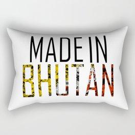 Made In Bhutan Rectangular Pillow