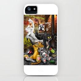 Kit Cat Klub iPhone Case