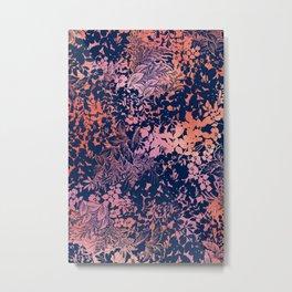 blanket of foliage in warm tones Metal Print