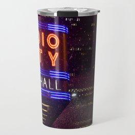 Falling Soap at Radio City Travel Mug