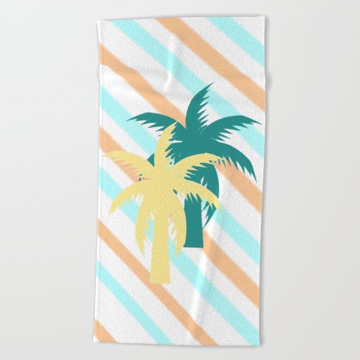 Tropical II Beach Towel
