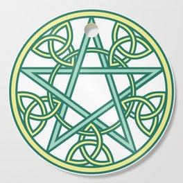 Celtic Pentacle Cutting Board